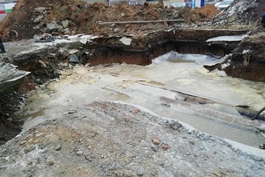Без воды остались несколько домов