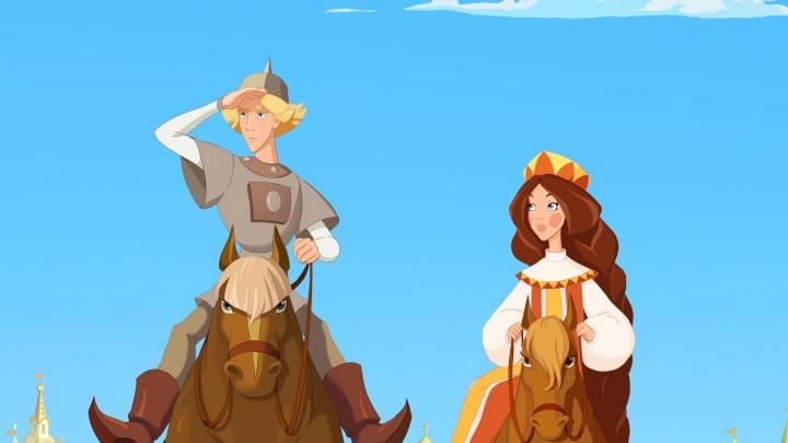 Самарцы могут заранее купить билеты на ленту «Три богатыря и наследница престола»