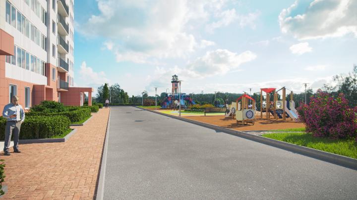 Уникальный двор обустроят недалеко от станции метро «Гагаринская»