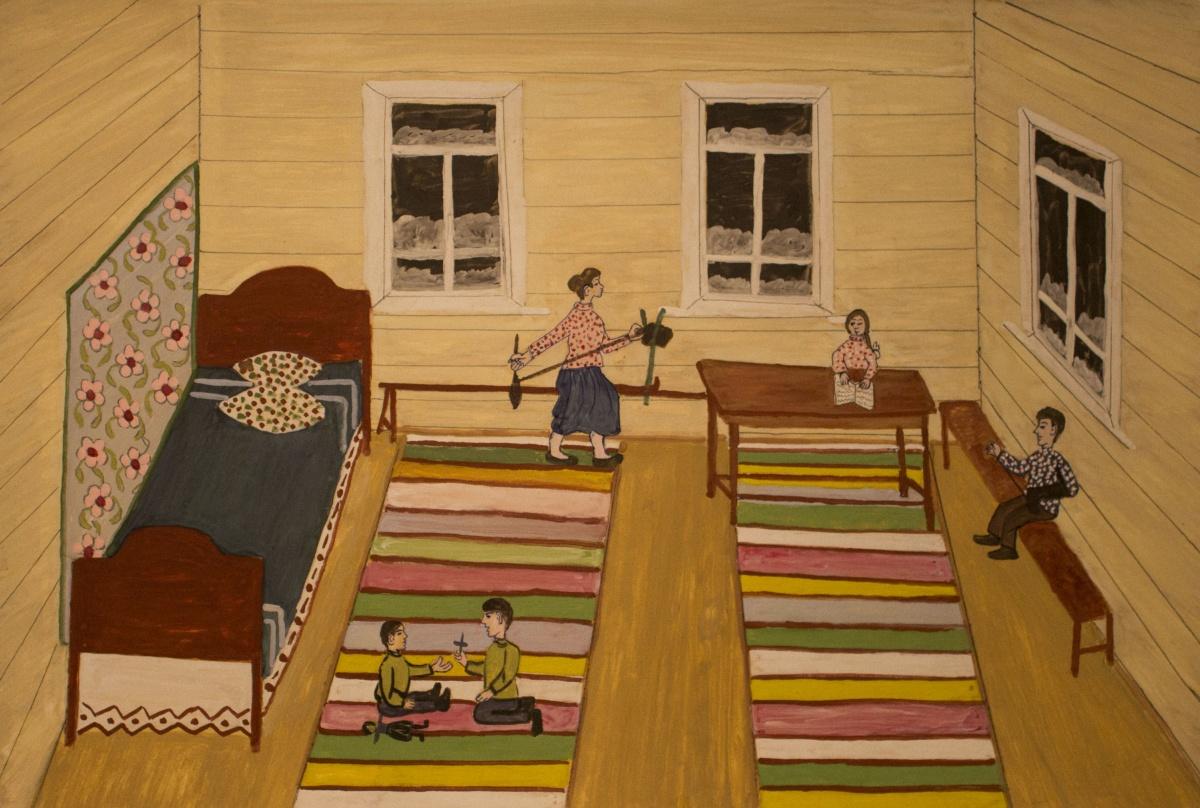 «Зимний вечер», 1993 год