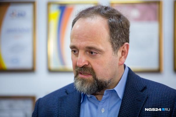 Министр Донской на ТЭЦ Красноярска