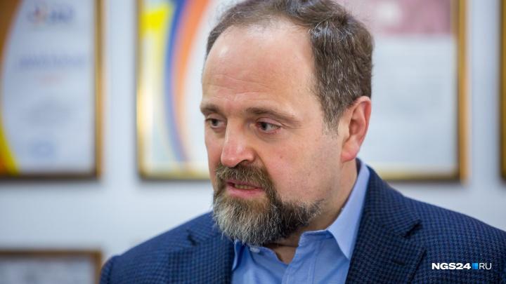Министр экологии рассказал о шансах газификации Красноярска и посмотрел на снос трубы ТЭЦ