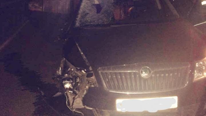 Сбил на пешеходном переходе: под Уфой произошло смертельное ДТП