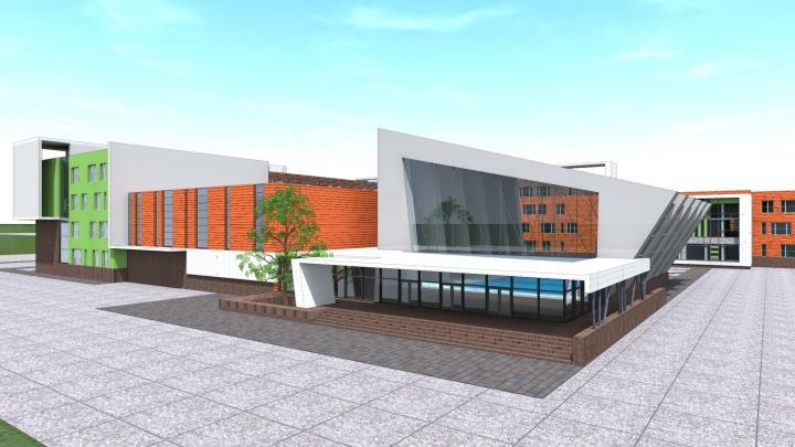 Школа с детсадом, бассейном и больницей: изучаем проект второго «путинского» центра в Екатеринбурге