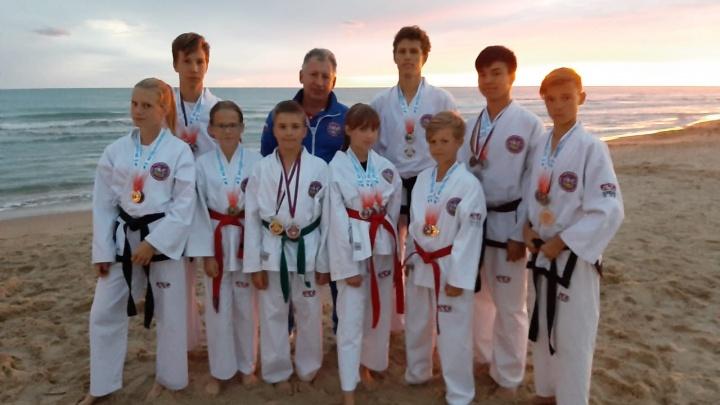 Новосибирские бойцы завоевали 18 медалей на чемпионате по тхэквондо