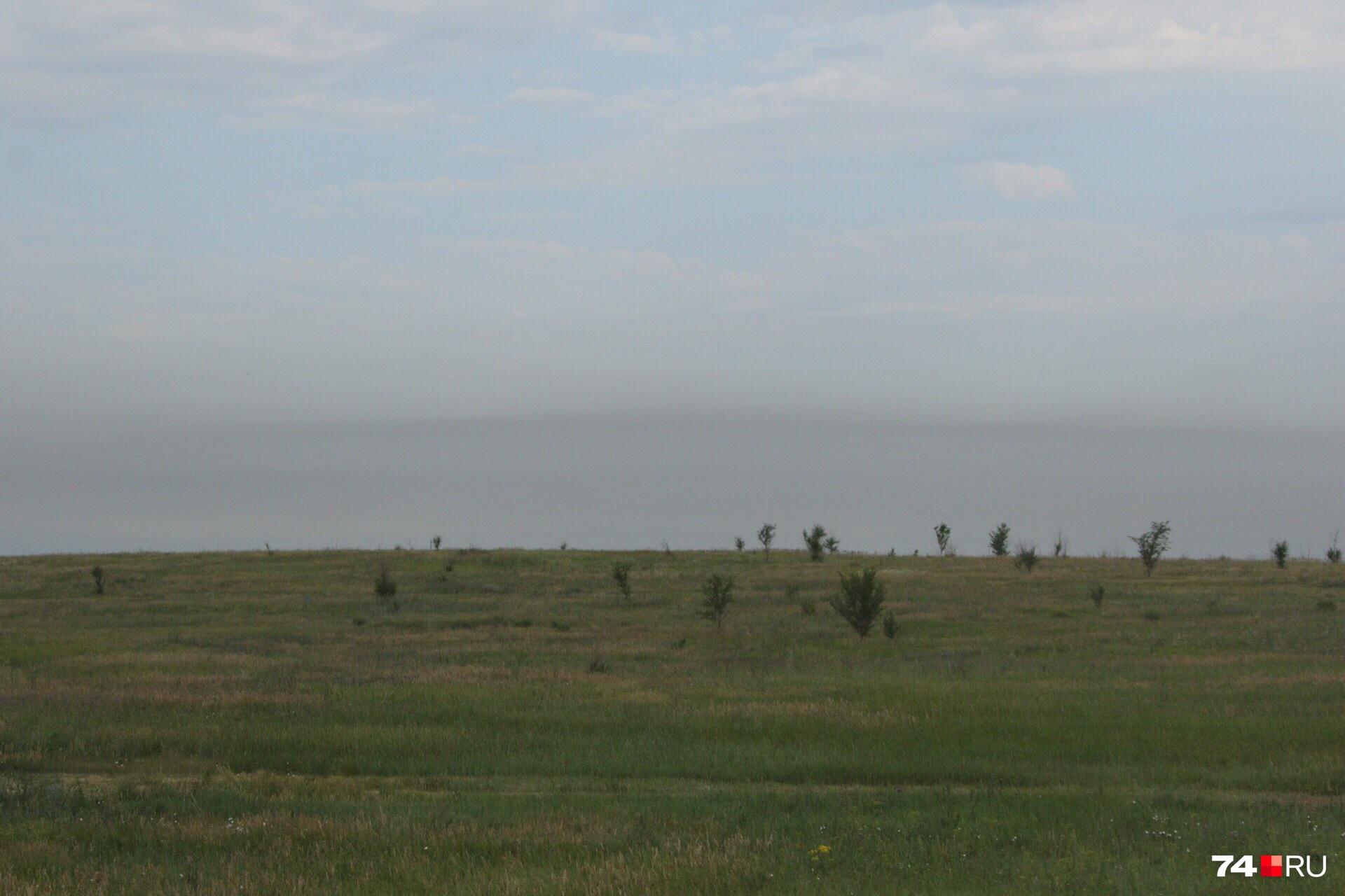 Так выглядит Магнитогорск на въезде со стороны Верхнеуральска