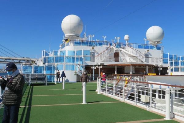 С лайнера Diamond Princess эвакуировали более 200 человек — но это не все