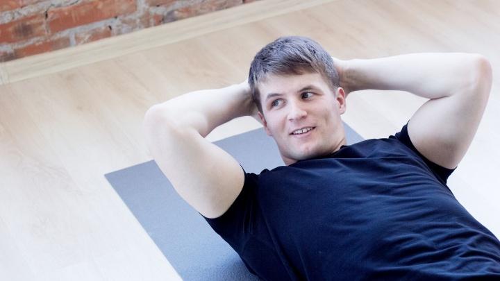 Новосибирский спортсмен тестирует женскую методику похудения с помощью дыхания