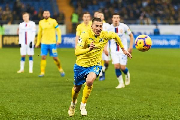 Желто-синие и ЦСКА сыграли на «Ростов Арене»