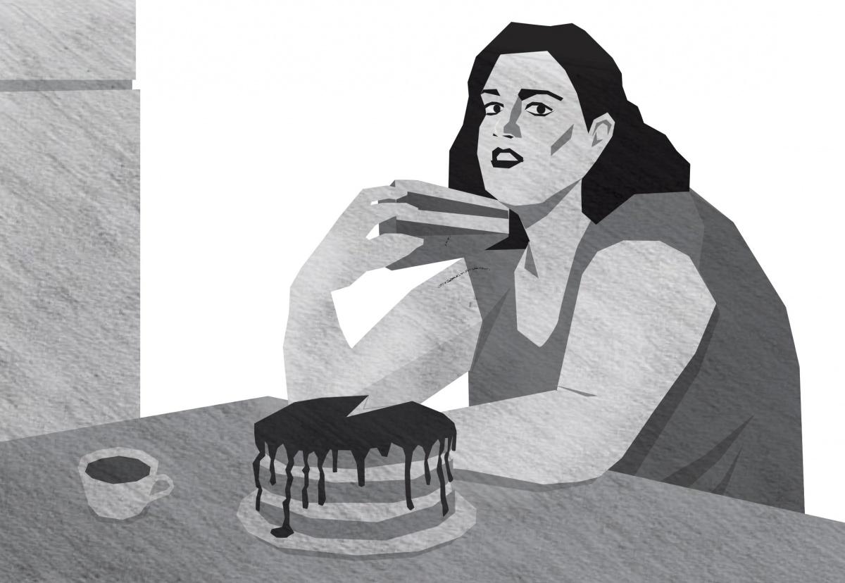 «Я уже не могла дышать и все равно толкала в себя еду»: исповедь анонимной обжоры
