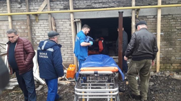 В Уфе на складе взорвался газ: мужчину госпитализировали