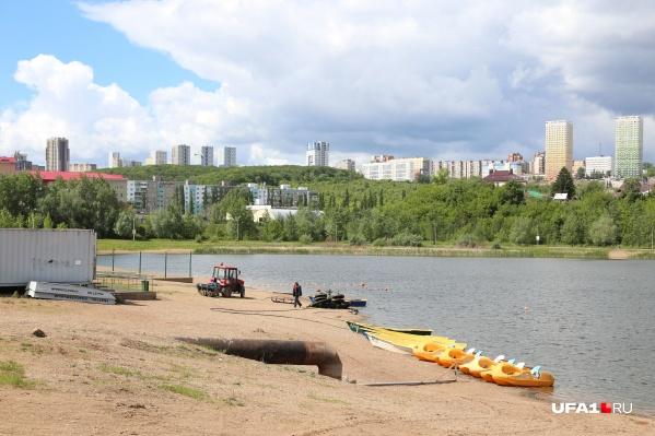 В будущем планируется полностью преобразить территорию вокруг озера