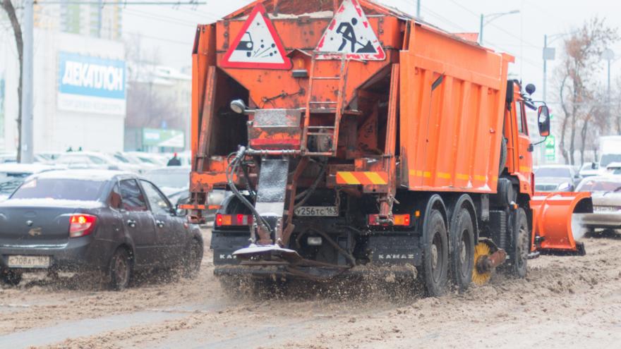 «Сжечь» лед на улицах: для Самары заказали реагенты на 0,5 миллиарда рублей