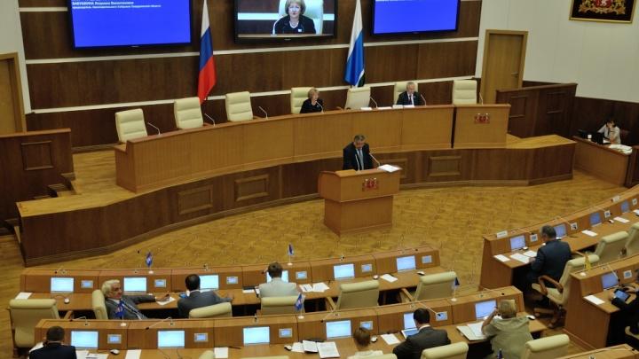 Список миллионеров: свердловские депутаты отчитались о доходах за прошлый год