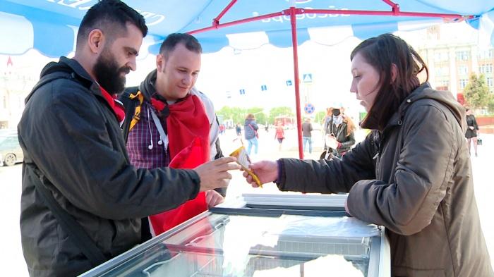 Египтяне в Екатеринбурге скупают мороженое