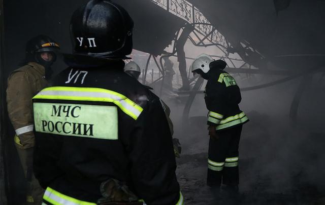 В Башкирии во время пожара эвакуировали 28 человек