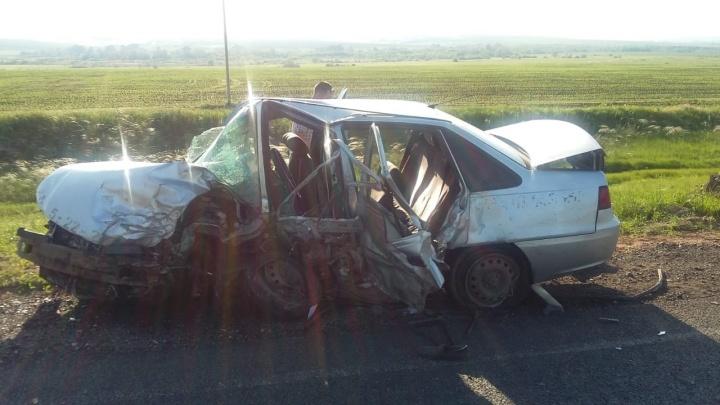 Водитель в морге, все пассажиры в больнице: на трассе в Башкирии произошло смертельное ДТП