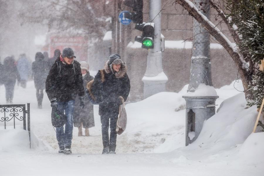 МЧС предупреждает о стремительном ухудшении погоды вНовосибирске вближайшие два дня
