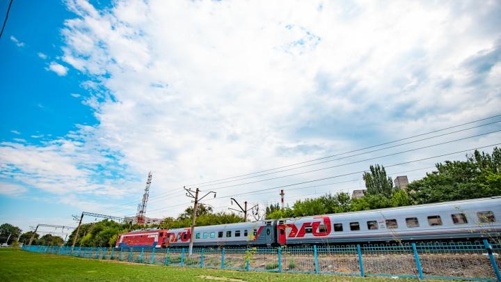 Прибытие трех пассажирских поездов в Ростовскую область задержат