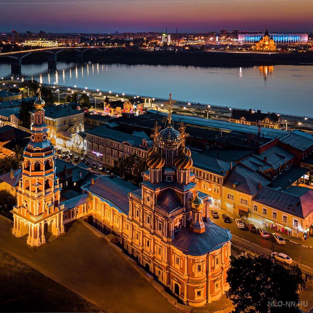 Один из лучших видов в Нижнем Новгороде