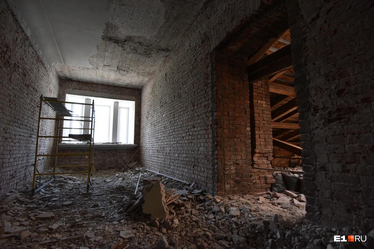 В отреставрированном здании посетители смогут подняться на последний этаж — в мансардное помещение