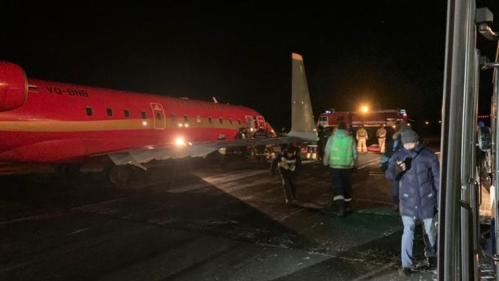 «Возникла техническая неисправность»: ответ аэропорта Томска по поводу неудачно севшего борта из Екатеринбурга
