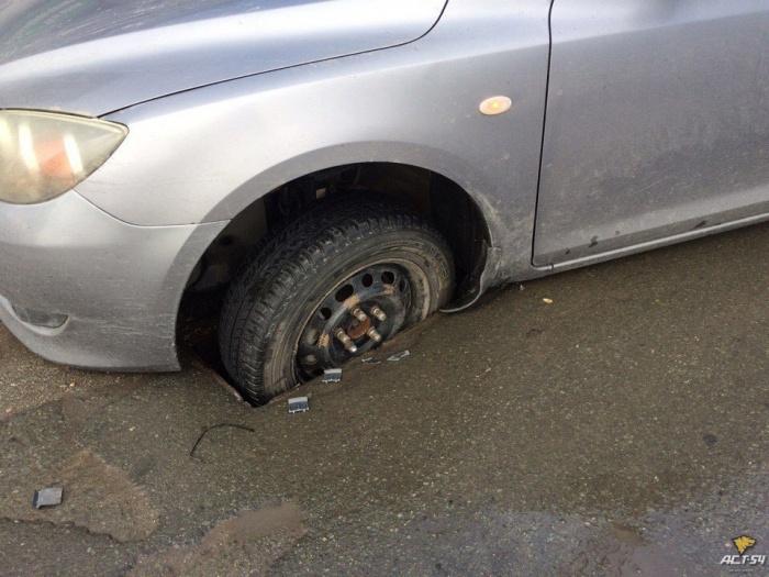 Инцидент произошёл на ул. Большевистская