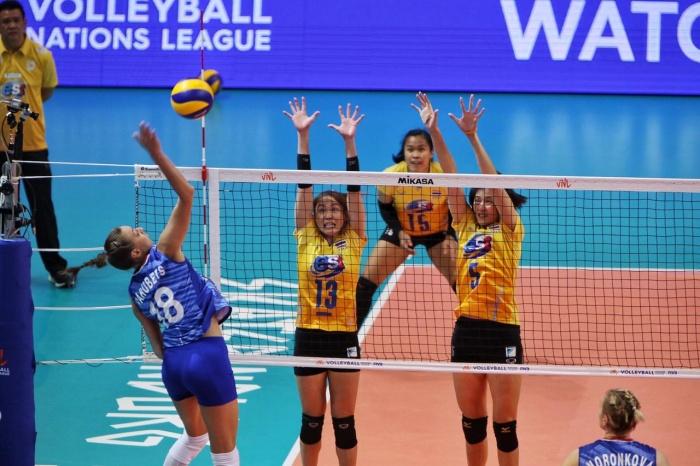 Нападающая «Уралочки» Ксения Парубец заработала 14 очков в этом матче