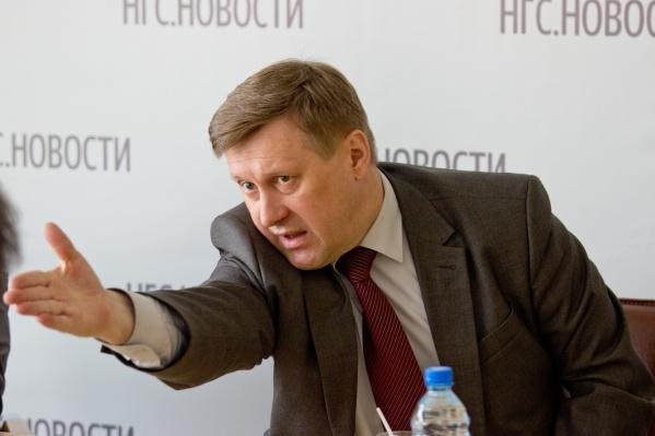 По мнению авторов рейтинга, мэра Новосибирска нельзя рассматривать исключительно как муниципального завхоза