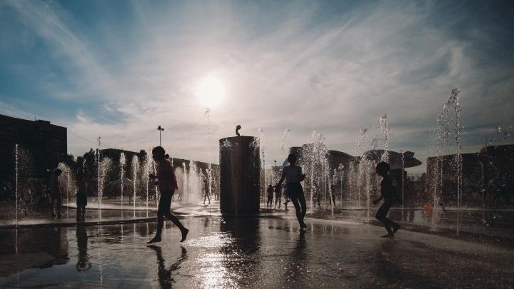 В эти выходные тюменцев ждёт дождь с грозой и сильный ветер. Погода на три дня