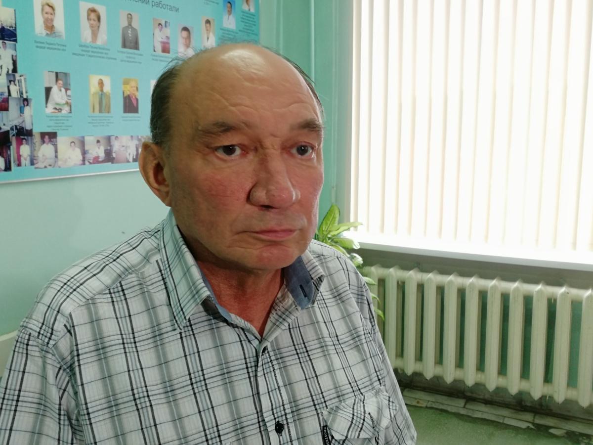 Сергей Пашков не мог спокойно спать и постоянно задыхался