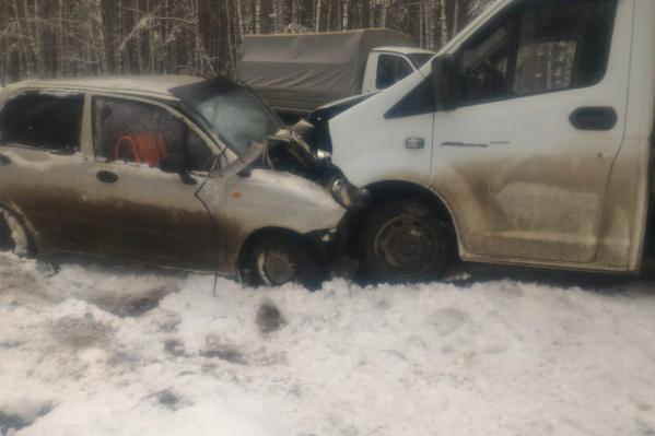 Авария произошла в трёх километрах от Чебаркуля