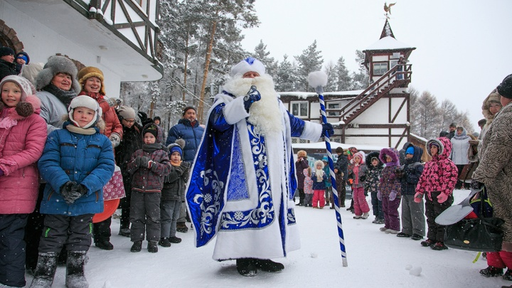 В Уфе откроется мастерская Деда Мороза