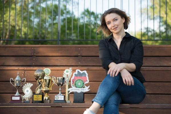 Мария Швецова занимается ирландскими танцами с 2008 года