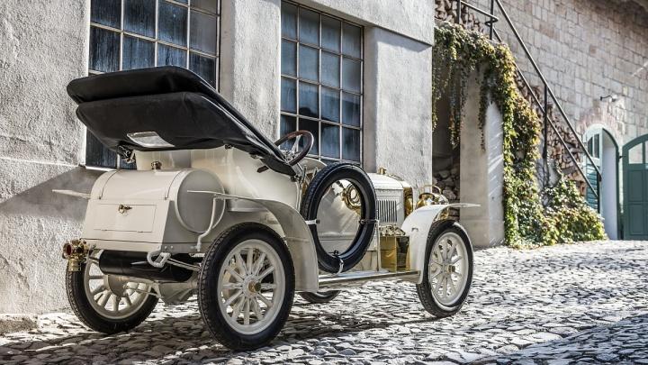 Музей SKODA представляет единственный сохранившийся экземпляр Laurin & Klement BSC 1908 года выпуска
