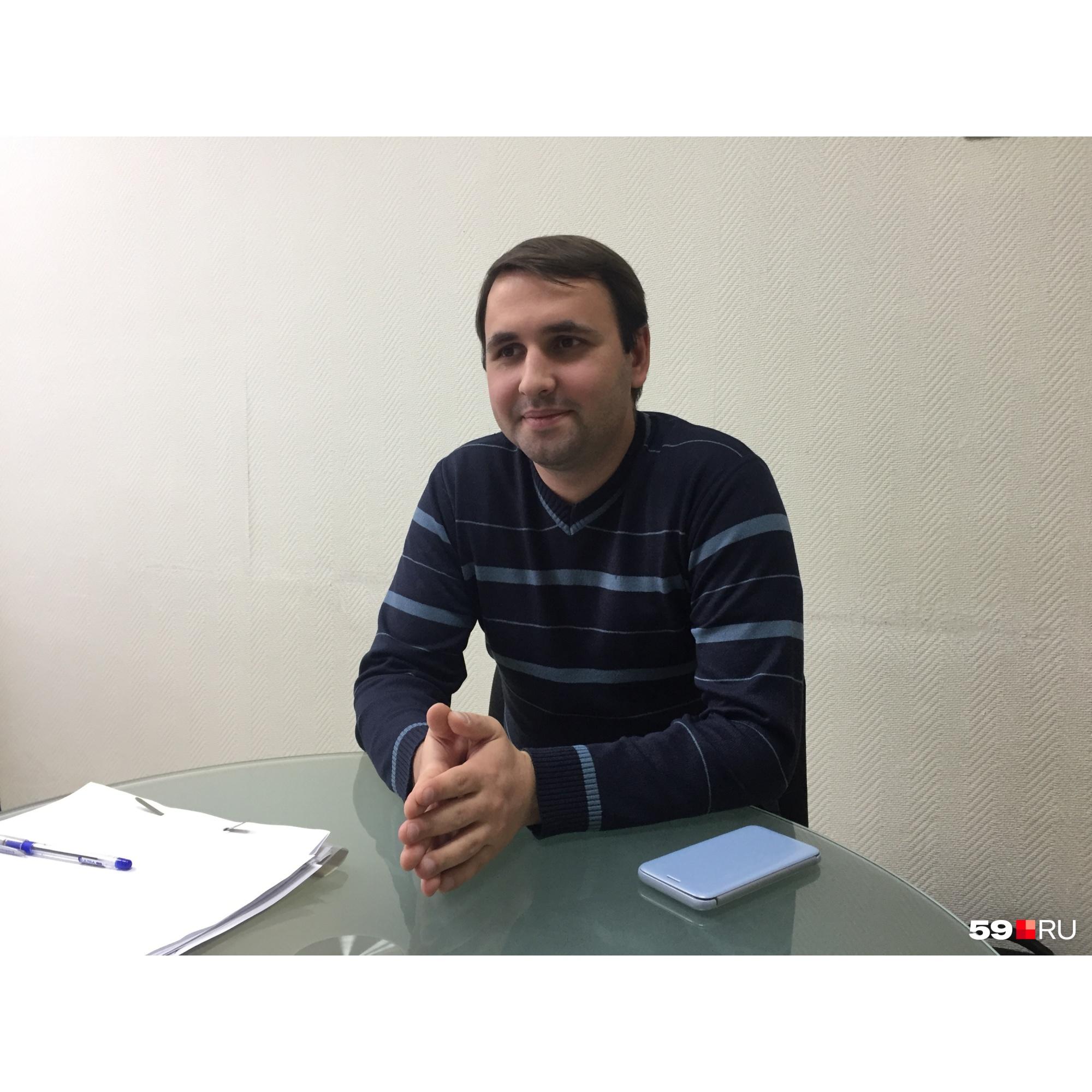 Юрист Дмитрий Остапчук