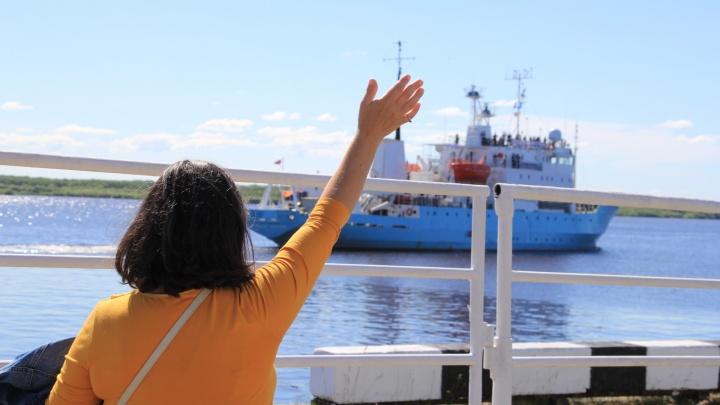 Арктический плавучий университет отправился в экспедицию к Новой Земле