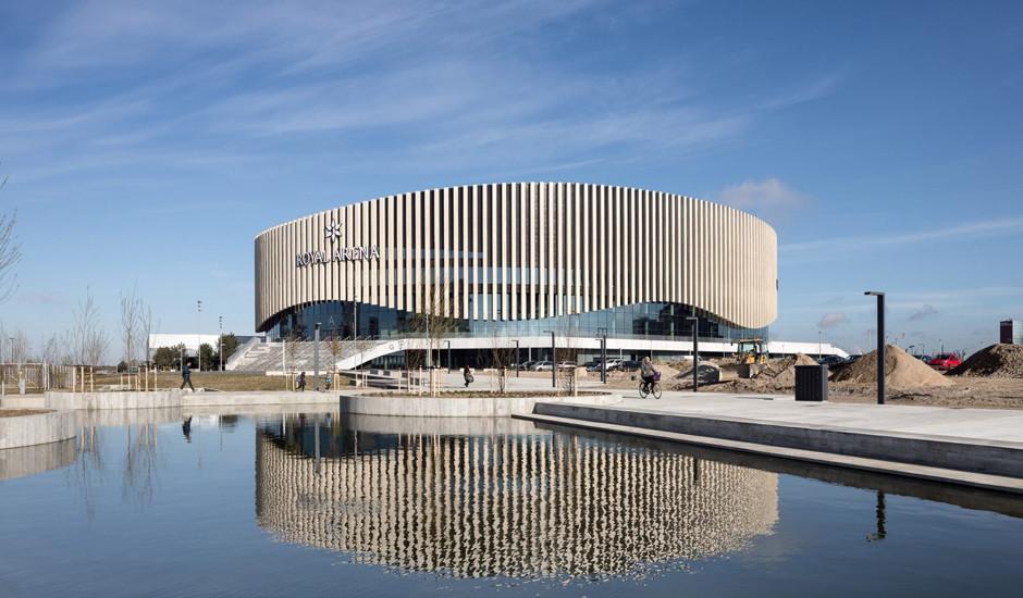 Нетипичная арена в Копенгагене