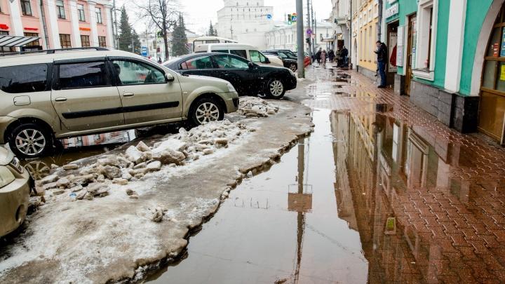 «Хватит, чтобы растопить снег»: Ярославль накроет мощная волна тепла из Атлантики