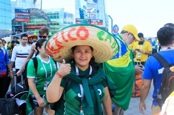 Мексиканцев можно отличить по шикарным шляпам