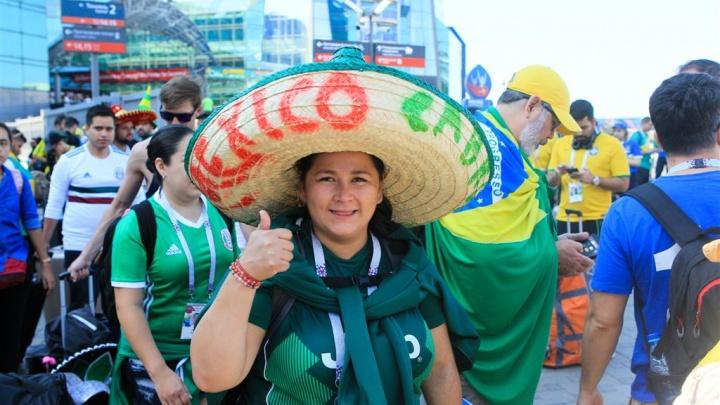 В Самару прибыли поезда с футбольными болельщиками Мексики и Бразилии