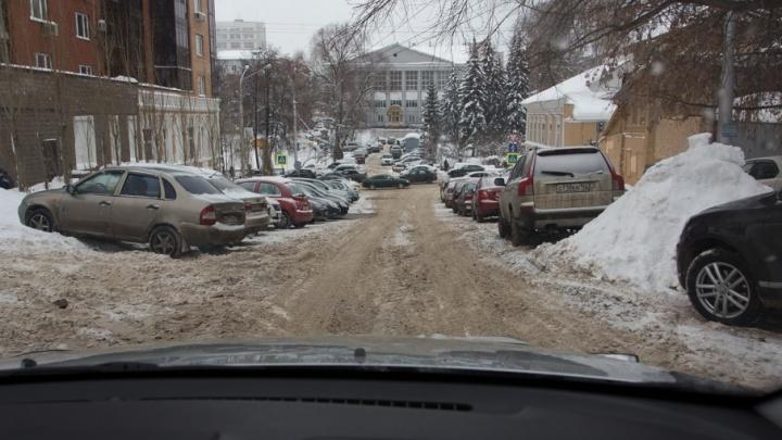 В мэрии Уфы сообщили, где уберут снег 31 января