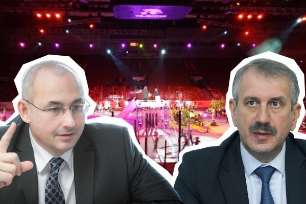 Ответственность за шоу понесли Леонид Одер и Александр Кузнецов