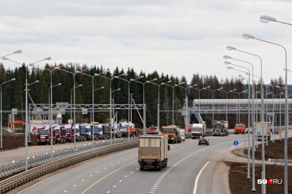 В 2017 году на трассе реконструировали участок до Кукуштана