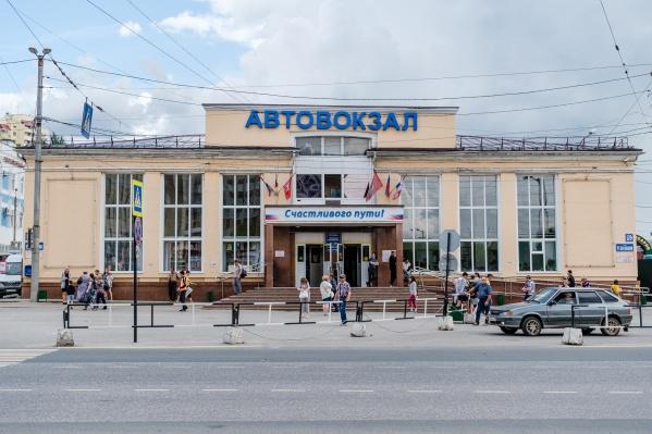 На пермском автовокзале можно выйти только через центральный вход