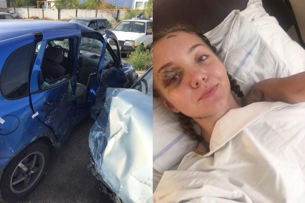 После аварии Юлия оказалась прикована к кровати
