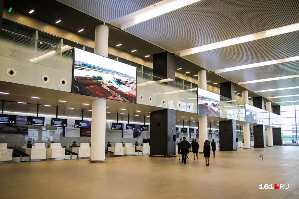 В списке 75 аэропортов, 38 морских и три речных порта