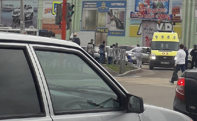 В Стерлитамаке на «зебре» сбили женщину