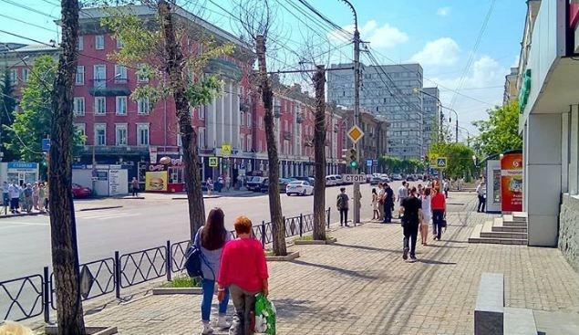 Общественник объяснил, почему +25 ощущается в Красноярске как адская жара