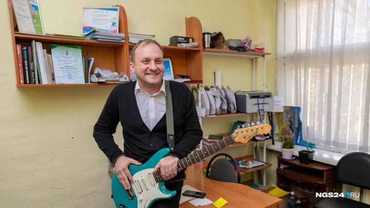 «Мечтал стать рок-звездой»: лучший учитель-мужчина о себе, детях, Путине и русской ментальности